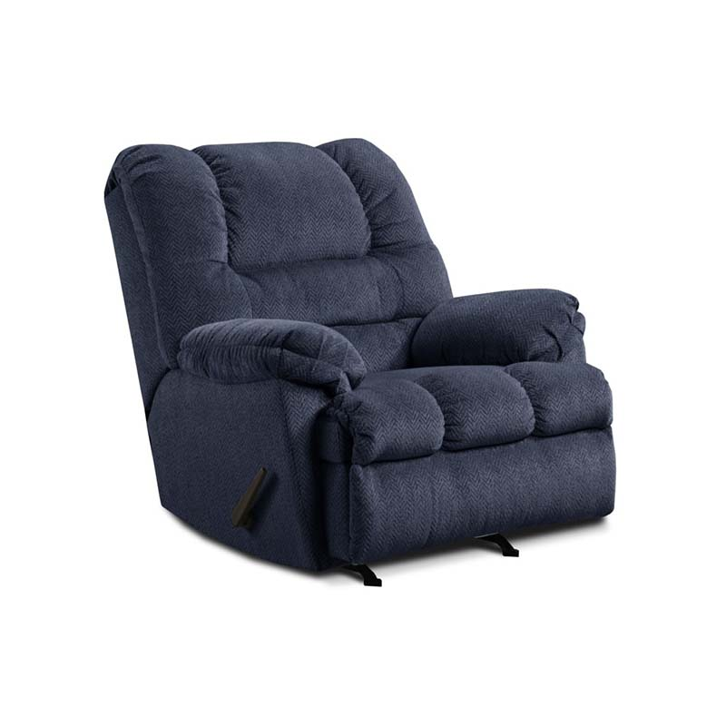 Simmons Blue Recliner