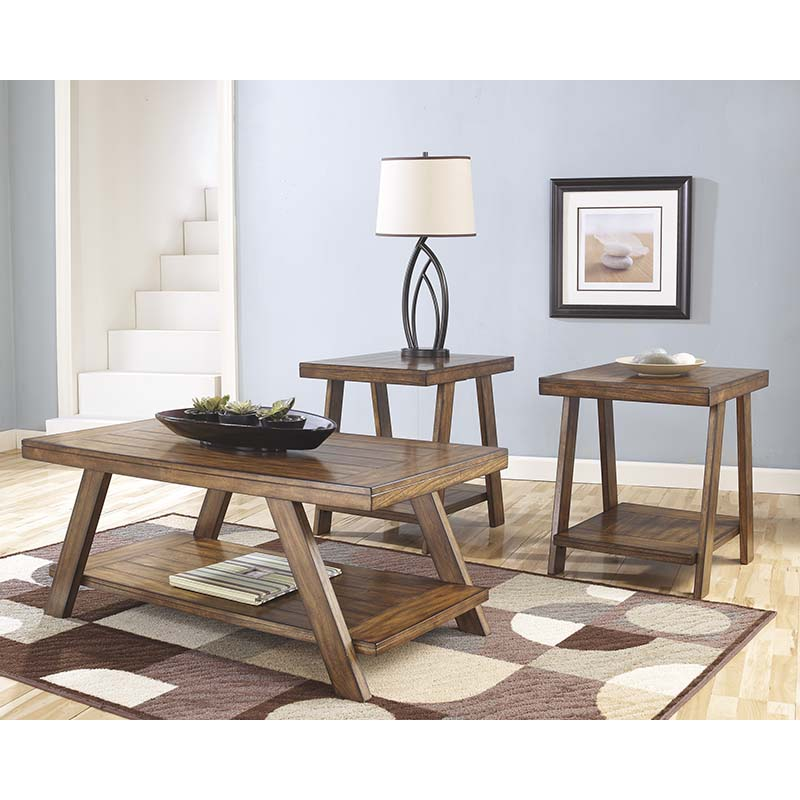 Ashley Bradley Occasional 3-Piece Table Set