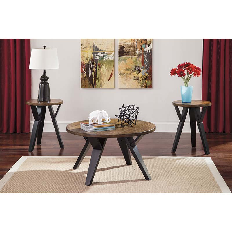 Ashley Ingel 3-Piece Table Set