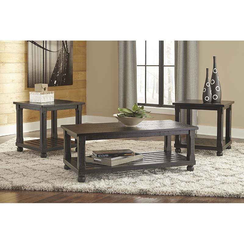 Ashley Mallacar 3-Piece Table Set