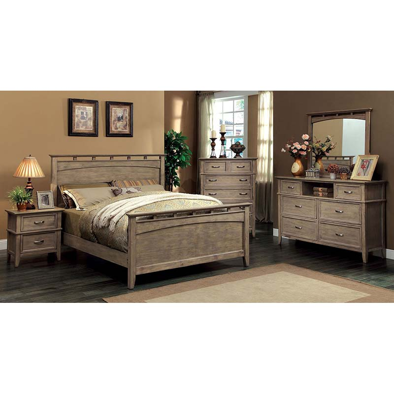 Furniture of America Loxley Bedroom Set