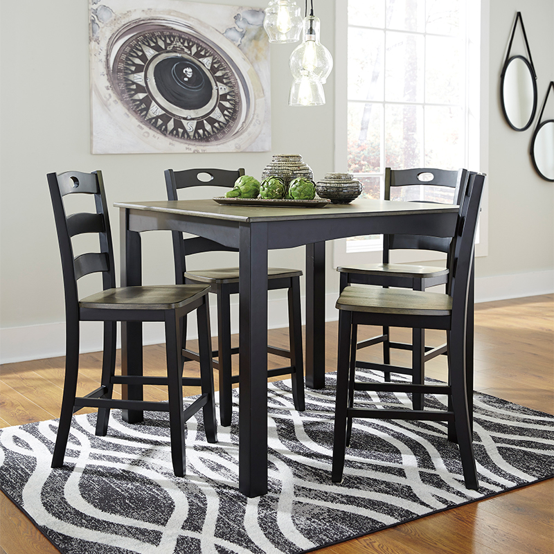 Ashley Froshburg Counter Height Dining Set