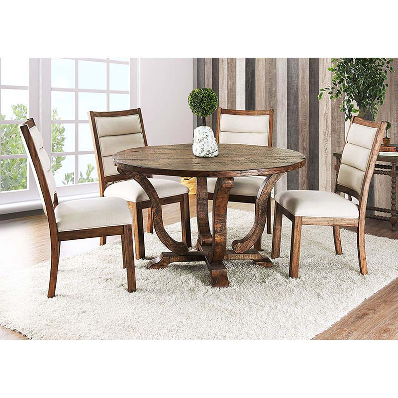 Furniture of America Isabelle 5-Piece Dining Set