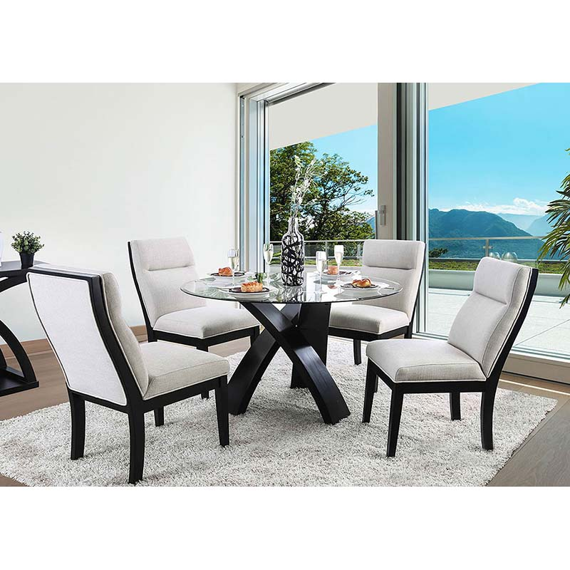 Furniture of America Jasmin 5-Piece Dining Set
