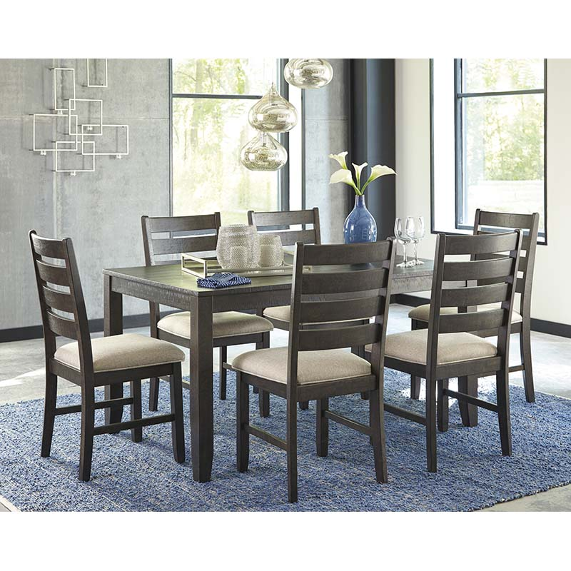 Ashley Rokane 7-Piece Dining Set