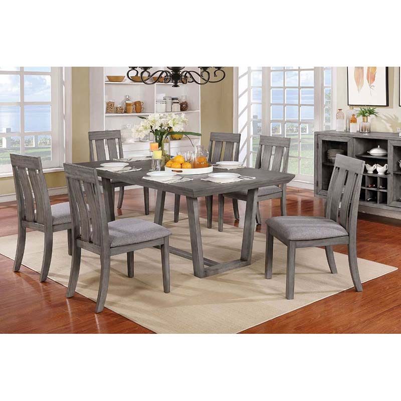 Furniture of America Jadyn 7-Piece Dining Set
