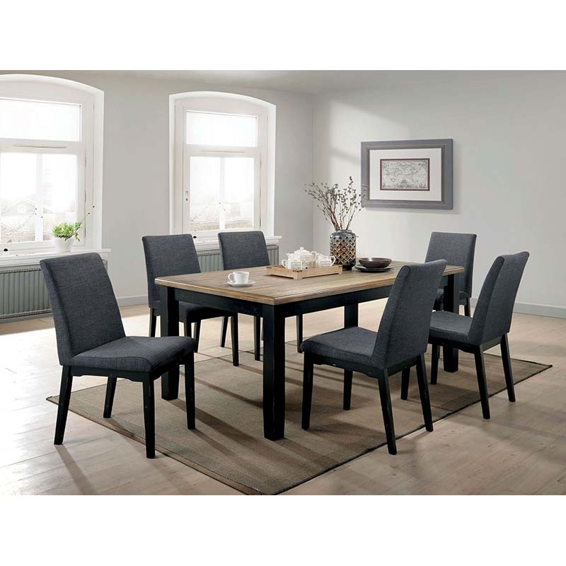 Furniture of America Mairiam 7-Piece Dining Set