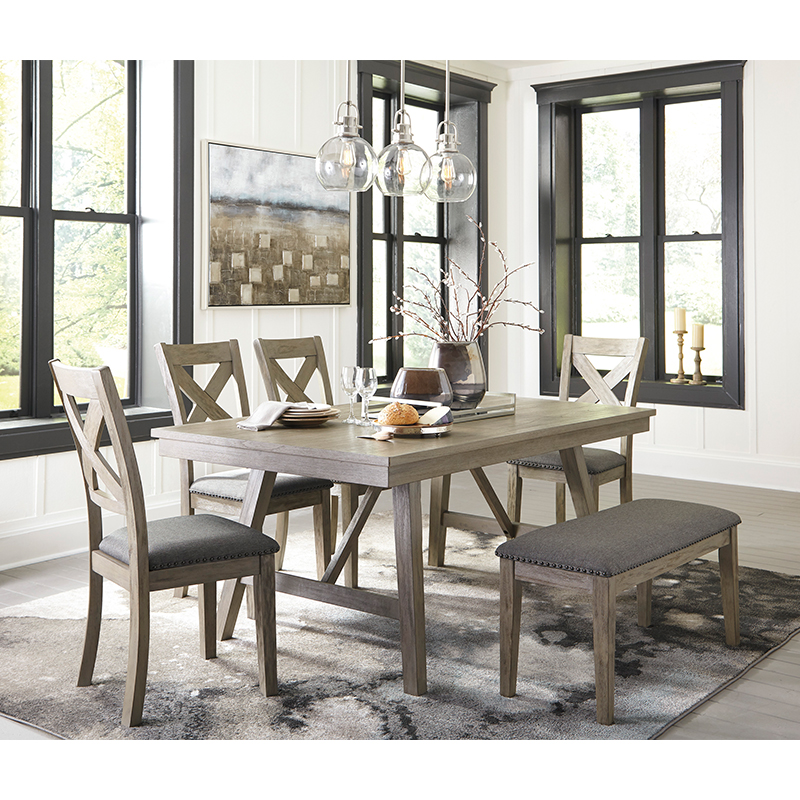Ashley Aldwin 6-Piece Dining Set