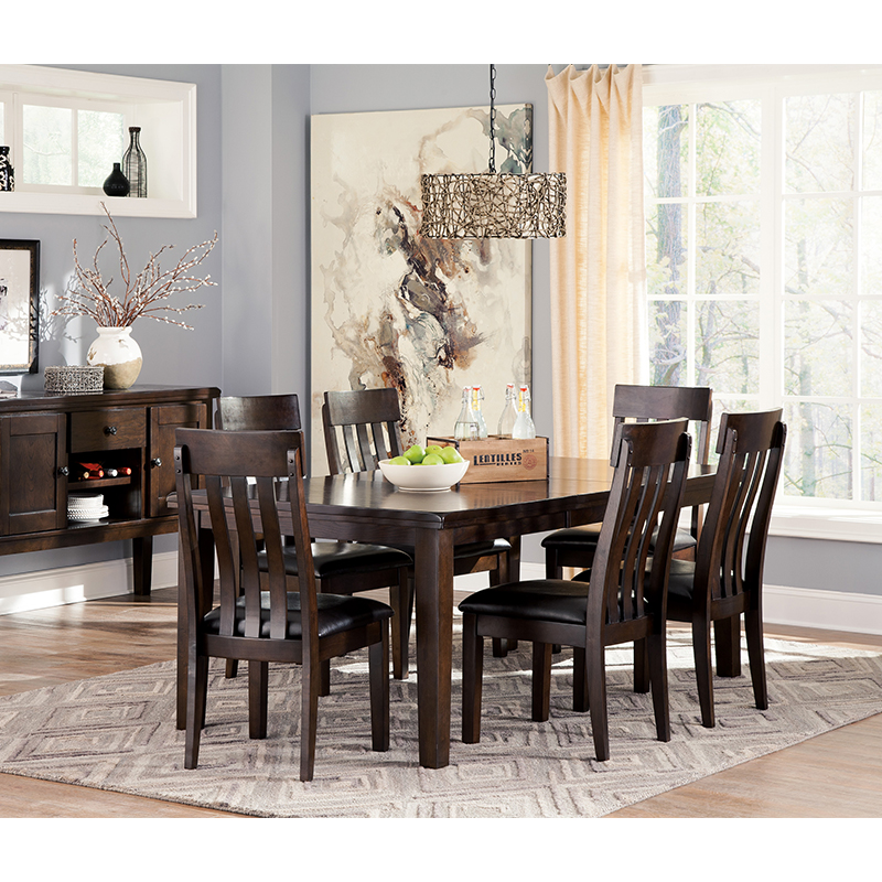 Ashley Haddigan 7-Piece Dining Set